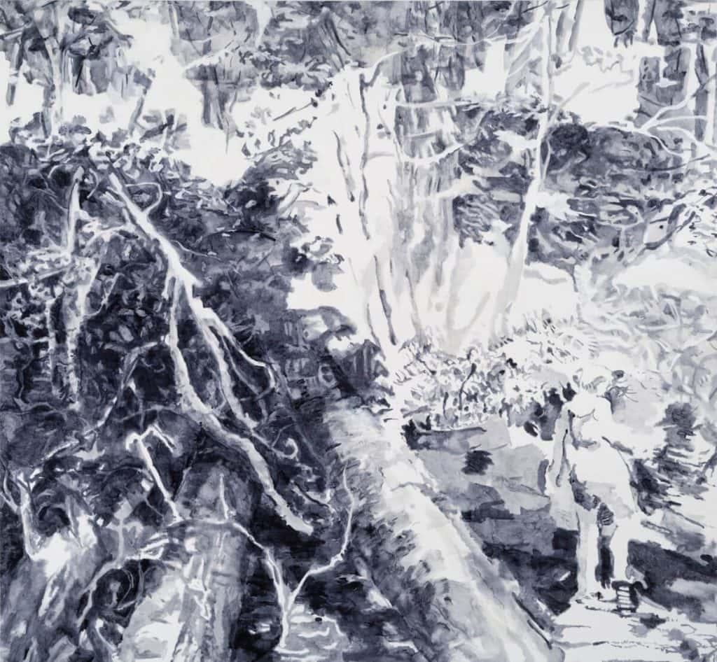 Past the Fallen Tree